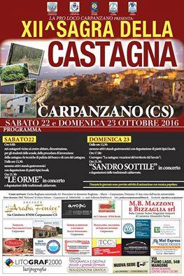 """<span class=""""entry-title-primary"""">Primi arrivi per la Sagra della Castagna a Carpanzano nella valle del Savuto</span> <span class=""""entry-subtitle"""">di Omar Falvo</span>"""